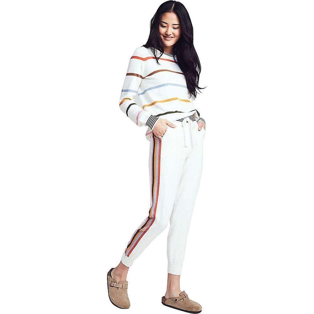 ファレティ Faherty レディース ニット・セーター トップス【Surf Sweater】Ivory Surf Stripe