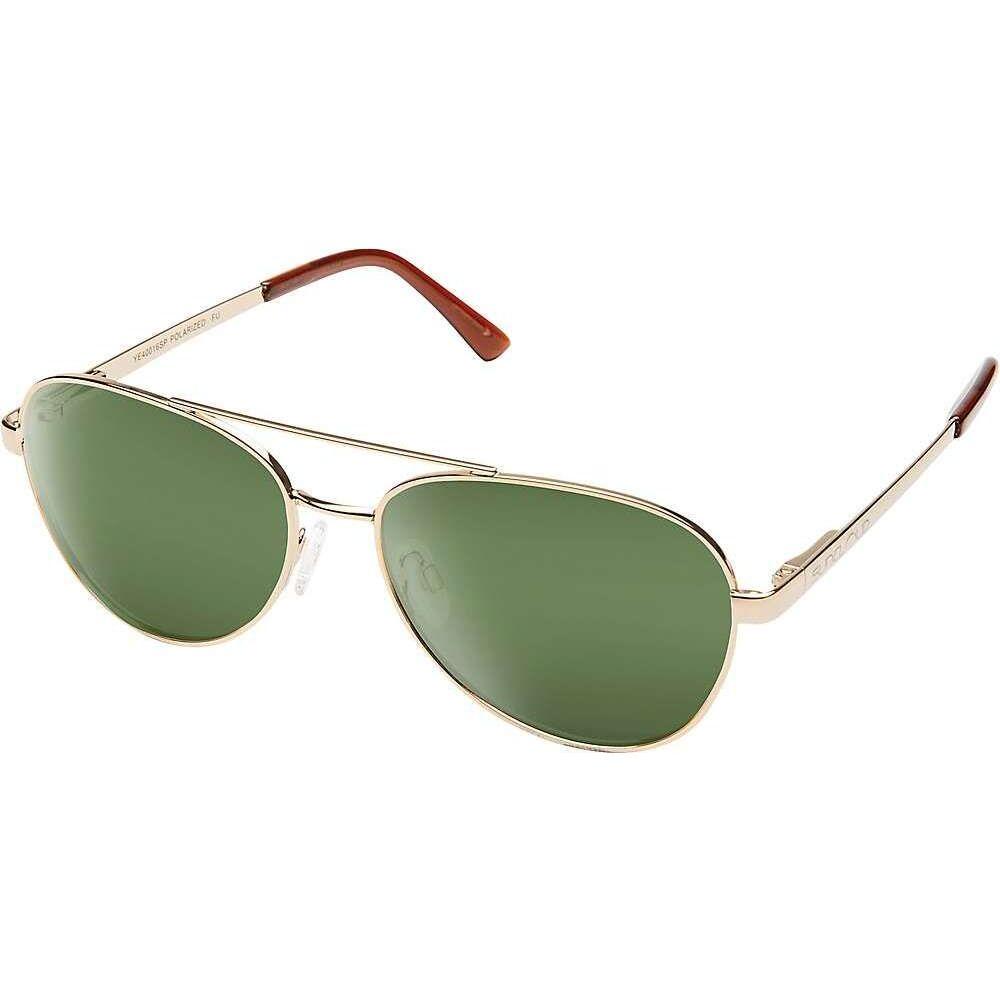 サンクラウド Suncloud ユニセックス メガネ・サングラス 【Callsign Polarized Sunglasses】Gold/Gray Green Polarized