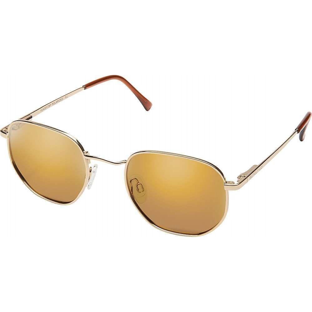 サンクラウド Suncloud ユニセックス メガネ・サングラス 【Del Ray Polarized Sunglasses】Gold/Sienna Mirror Polarized