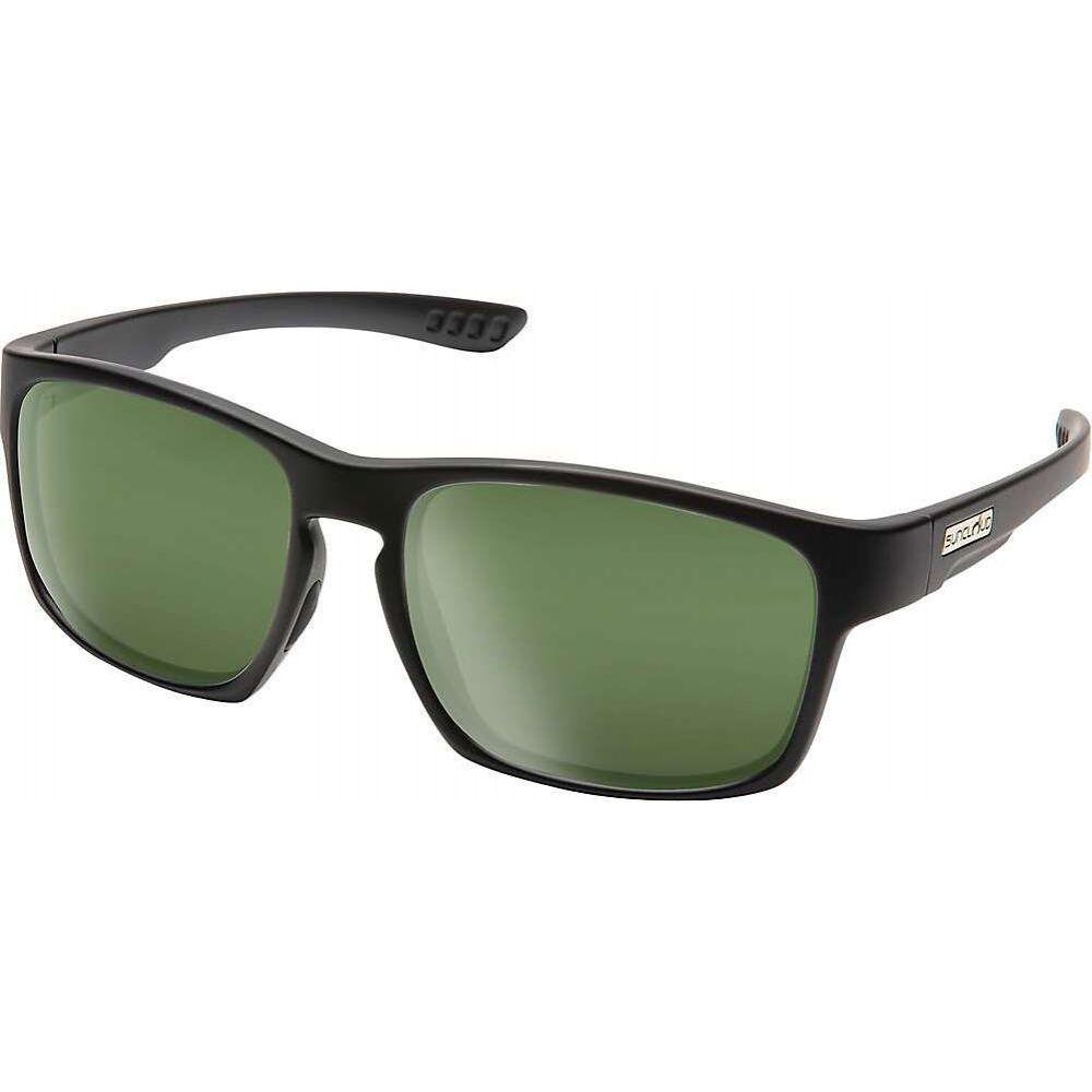 サンクラウド Suncloud ユニセックス メガネ・サングラス 【Fairfield Polarized Sunglasses】Matte Black/Gray Green Polarized