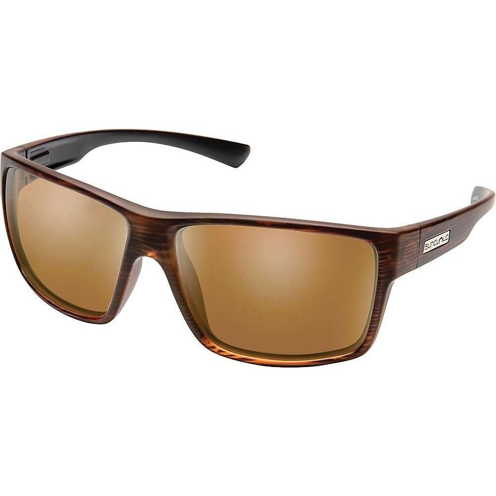 サンクラウド Suncloud ユニセックス メガネ・サングラス 【Hawthorne Polarized Sunglasses】Burnished Brown/Brown Polarized