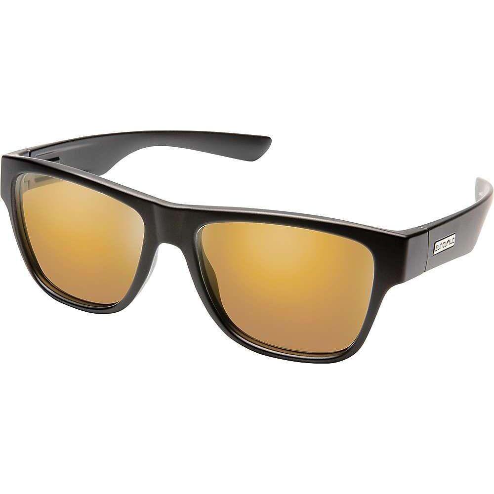 サンクラウド Suncloud ユニセックス メガネ・サングラス 【Redondo Polarized Sunglasses】Metallic Black/Sienna Mirror Polarized