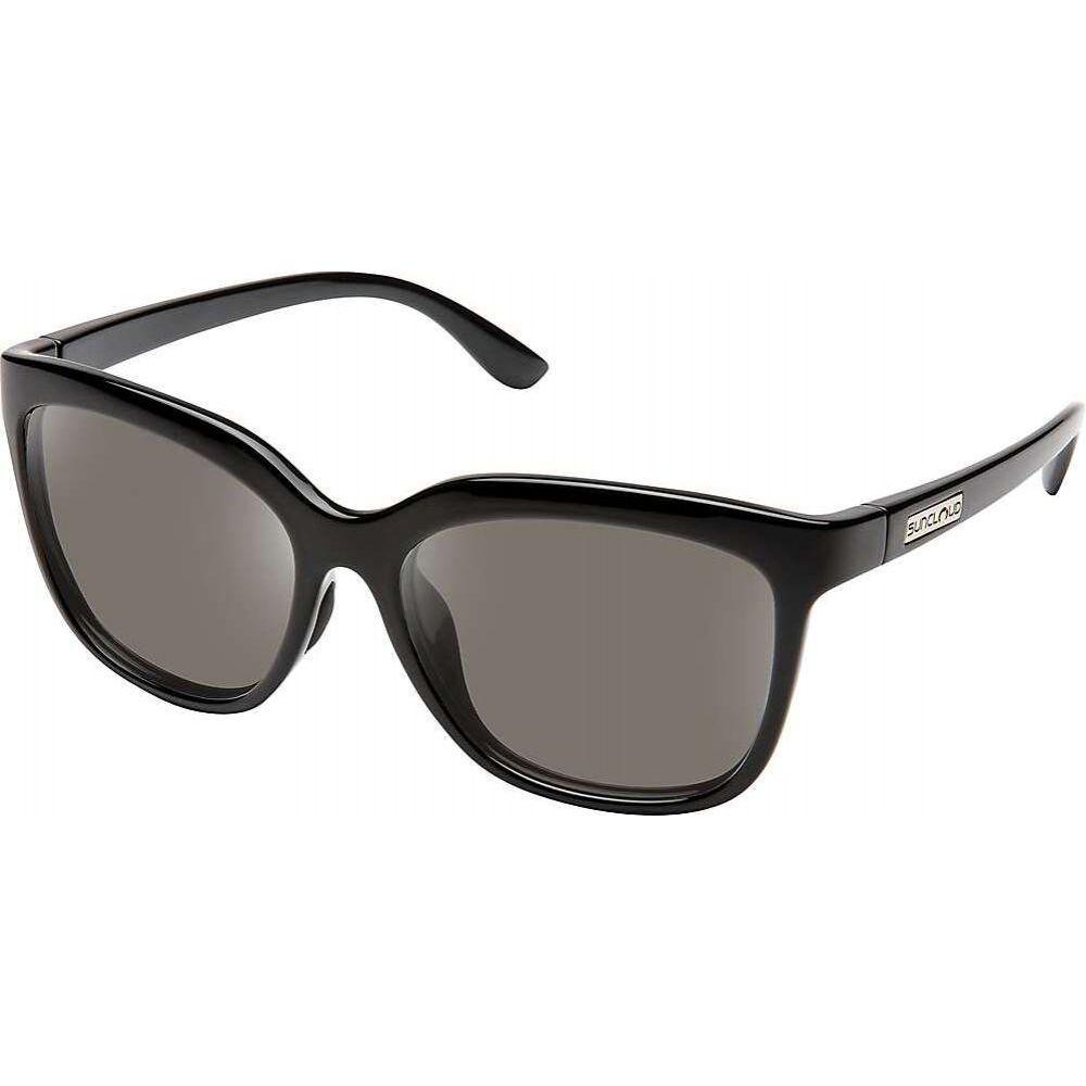 サンクラウド Suncloud ユニセックス メガネ・サングラス 【Sunnyside Polarized Sunglasses】Black/Gray Polarized
