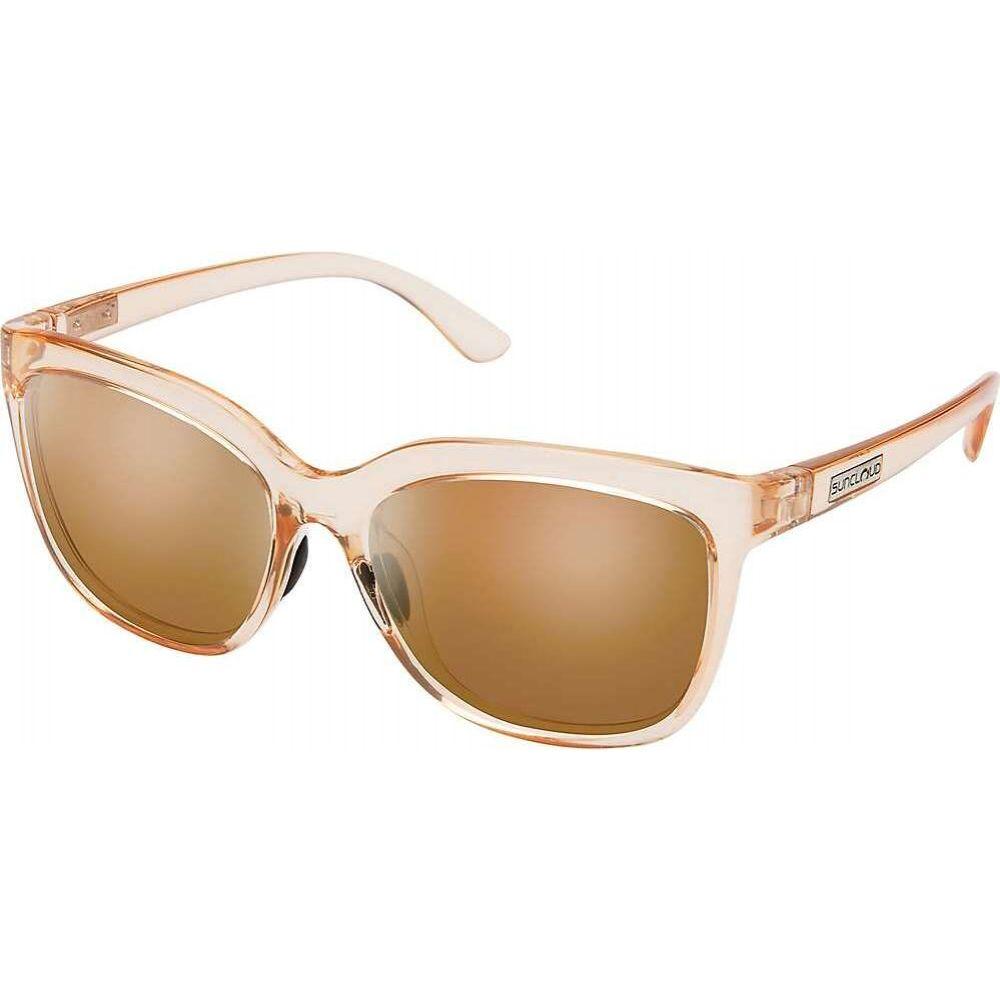 サンクラウド Suncloud ユニセックス メガネ・サングラス 【Sunnyside Polarized Sunglasses】Crystal Peach/Brown Polarized