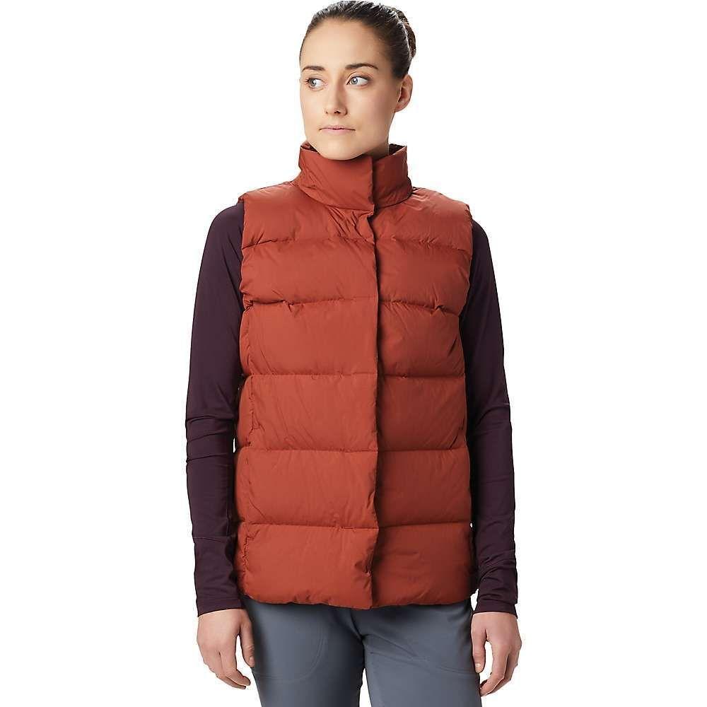 マウンテンハードウェア Mountain Hardwear レディース ベスト・ジレ トップス【Glacial Storm Vest】Rusted