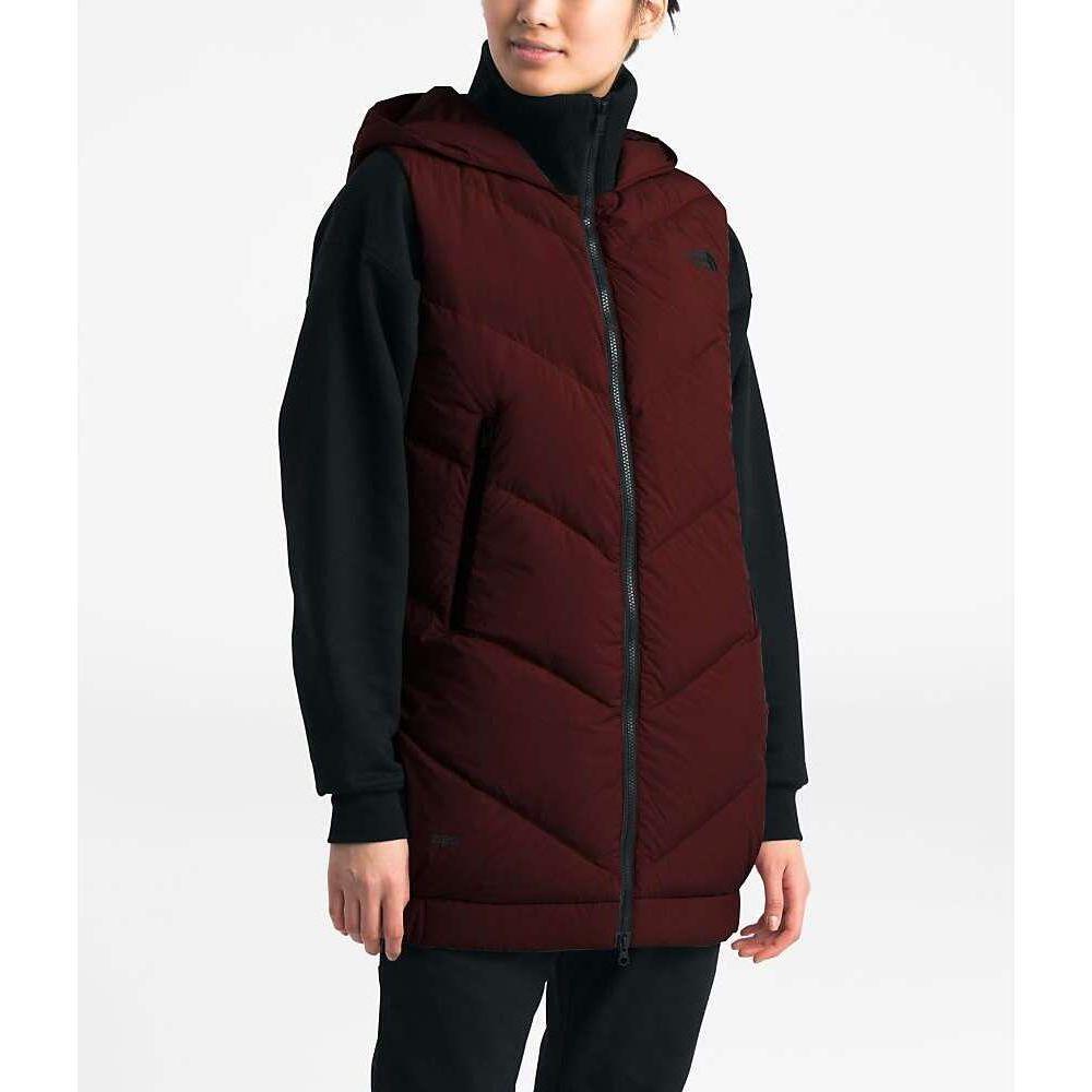 ザ ノースフェイス The North Face レディース ベスト・ジレ トップス【Albroz Vest】Deep Garnet Red