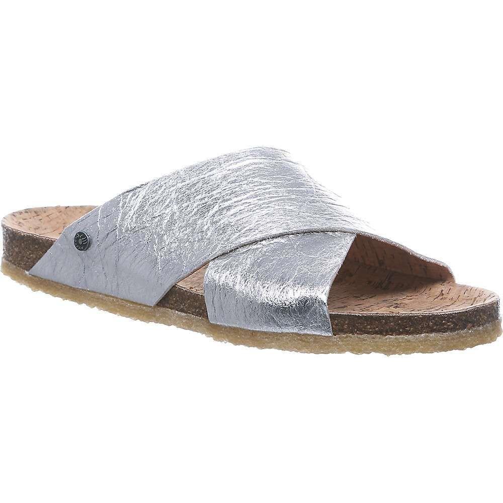 ベアパウ Bearpaw レディース サンダル・ミュール シューズ・靴【Pina Sandal】Silver