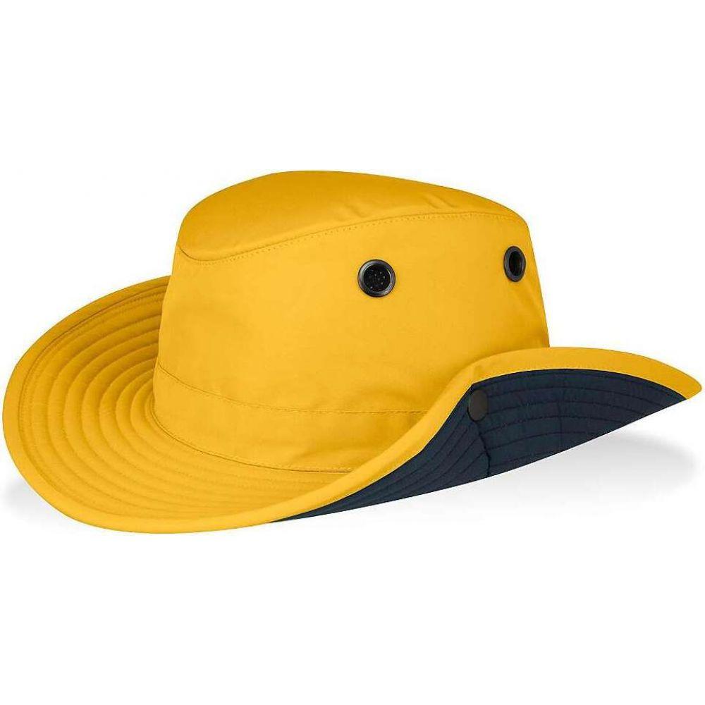 ティリー Tilley メンズ ハット 帽子【Paddler's Hat】Yellow/Navy