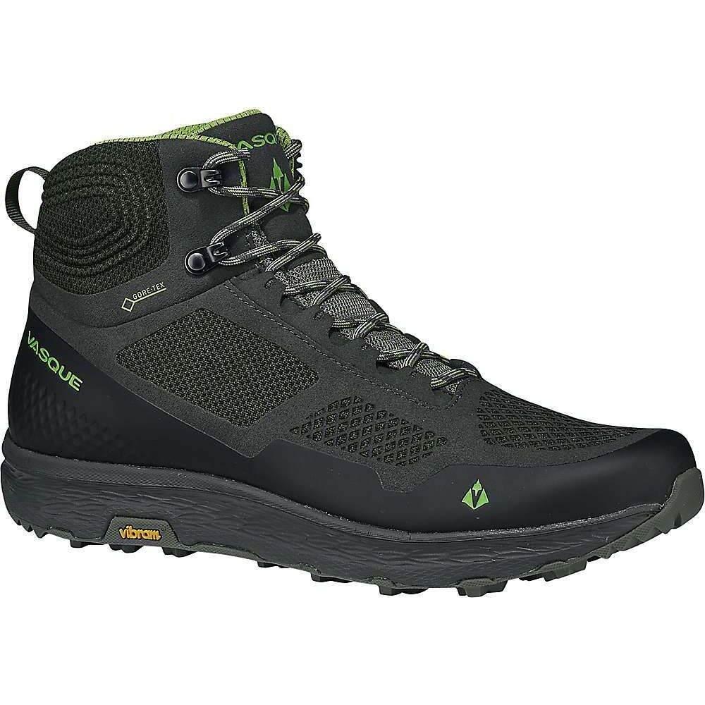 バスク Vasque メンズ ハイキング・登山 シューズ・靴【Breeze LT GTX Shoe】Beluga/Lime Green