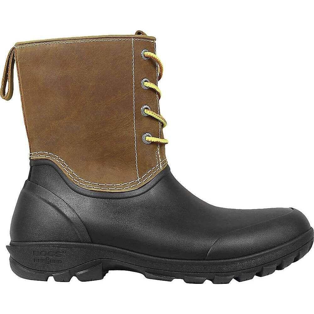 ボグス Bogs メンズ ブーツ シューズ・靴【Sauvie Snow Leather Boot】Tan