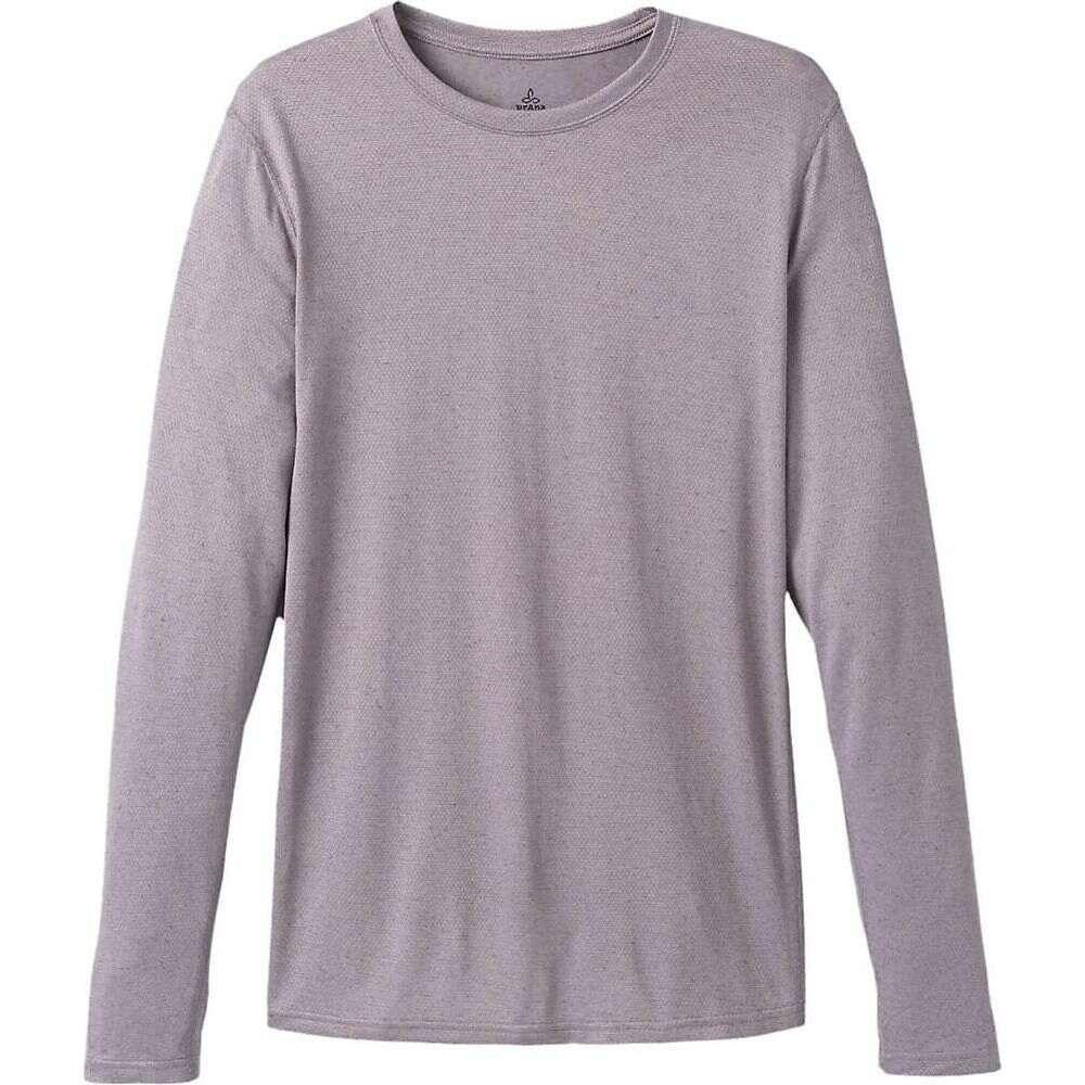 プラーナ Prana メンズ シャツ トップス【Prevailor LS Shirt】Heather Grey