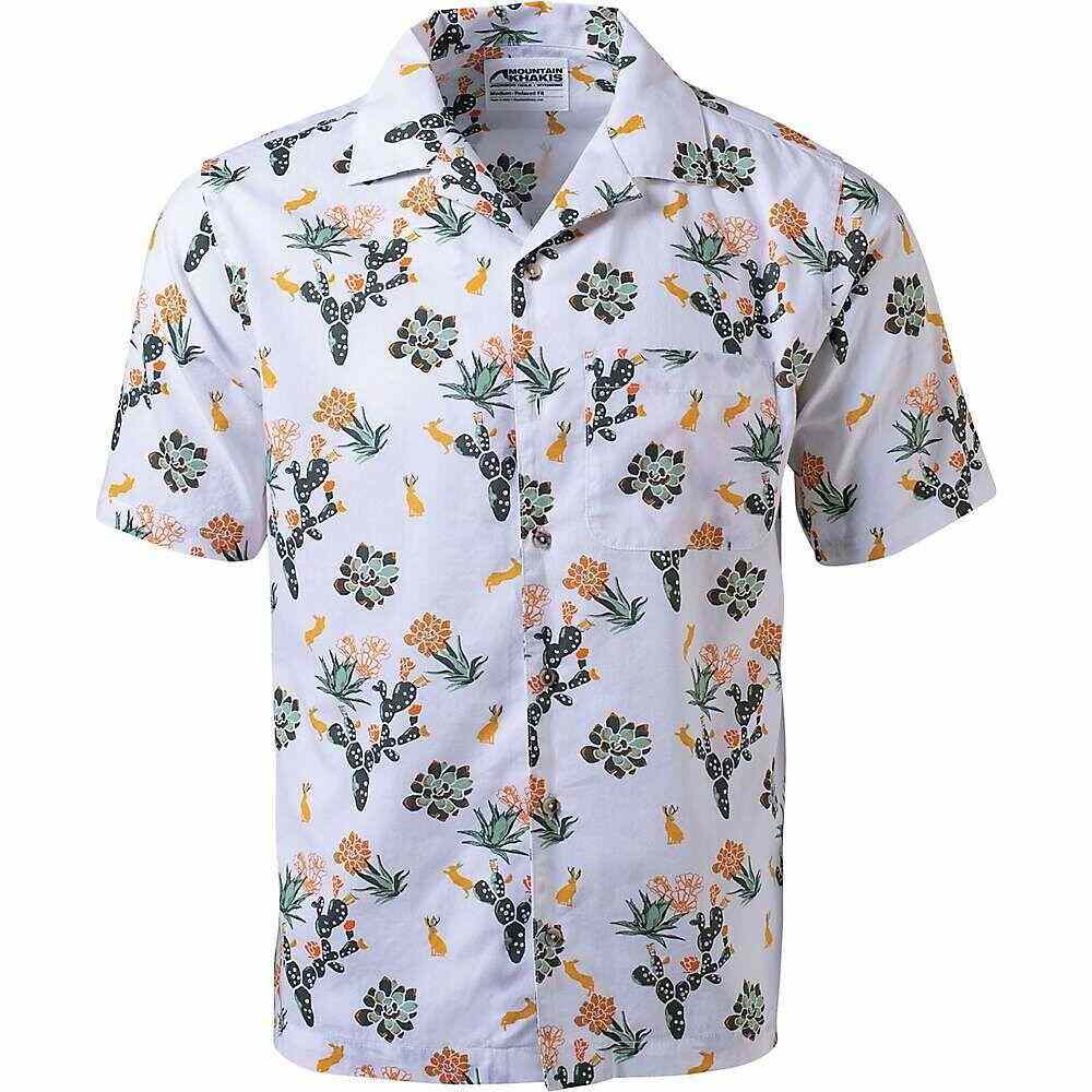 マウンテンカーキス Mountain Khakis メンズ 半袖シャツ トップス【Chee Pono SS Shirt】Linen