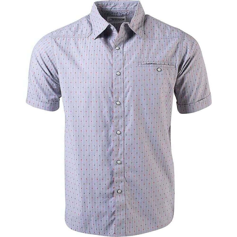 マウンテンカーキス Mountain Khakis メンズ 半袖シャツ トップス【EL Camino SS Shirt】Smoke