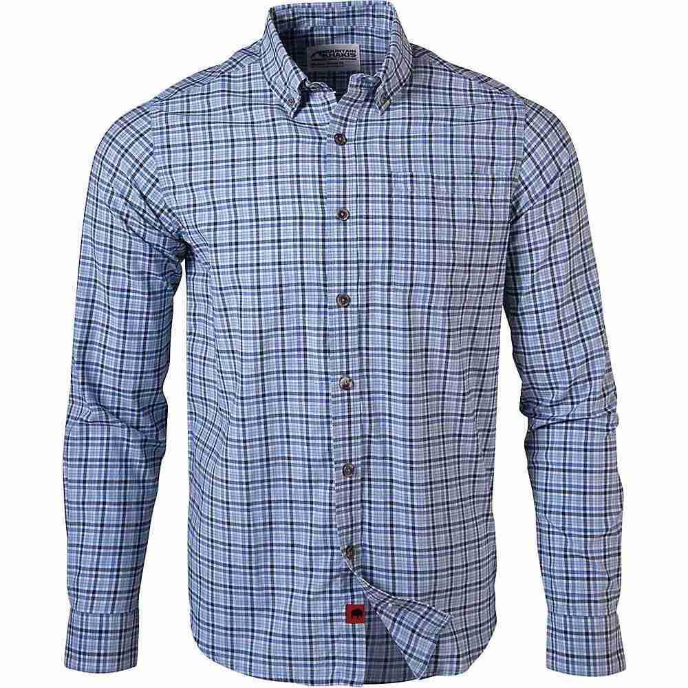 マウンテンカーキス Mountain Khakis メンズ シャツ トップス【Spalding Gingham LS Shirt】Stellar