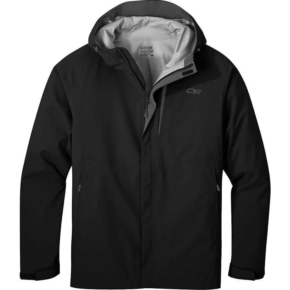 アウトドアリサーチ Outdoor Research メンズ レインコート アウター【Guardian II Jacket】Black