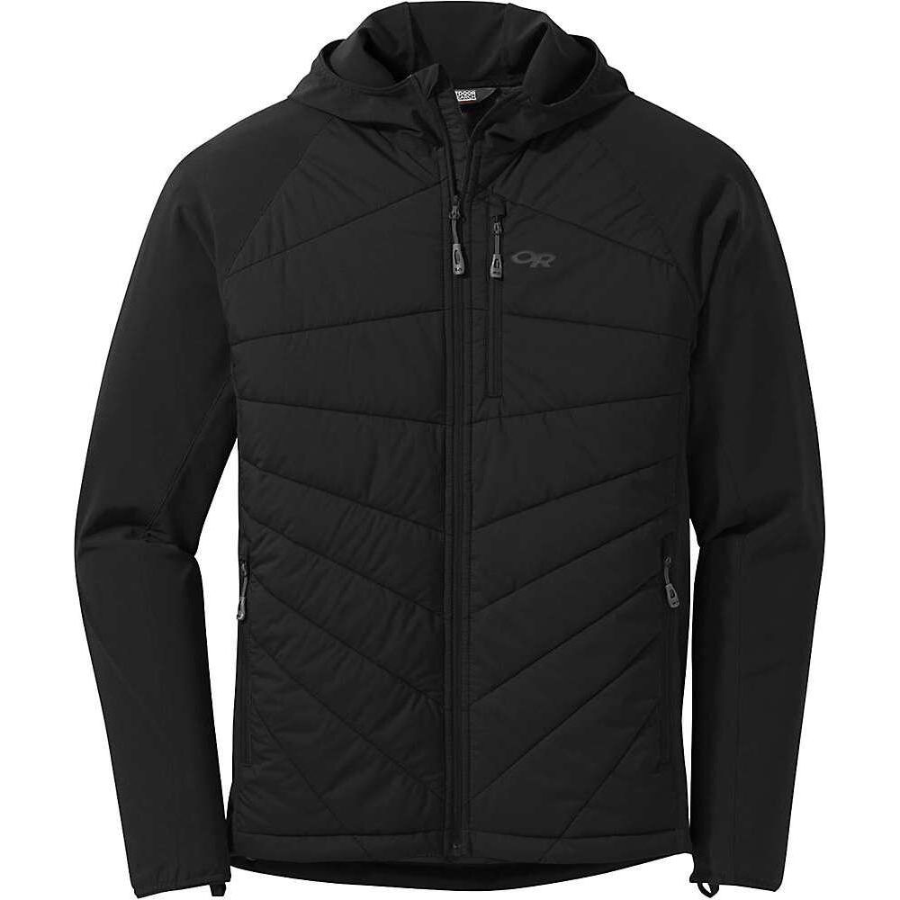 アウトドアリサーチ Outdoor Research メンズ ジャケット フード アウター【Refuge Hybrid Hooded Jacket】Black