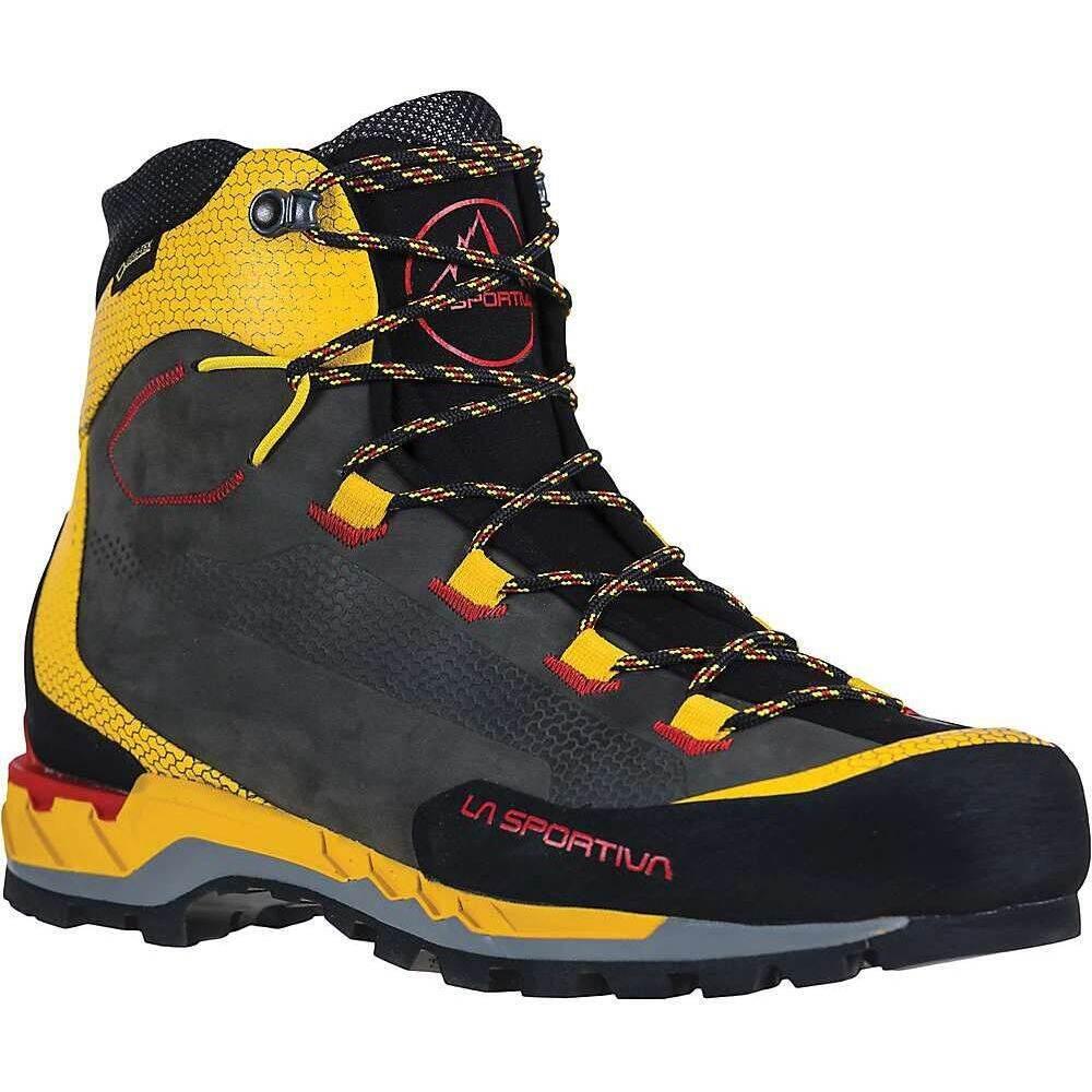 ラスポルティバ La Sportiva メンズ ハイキング・登山 ブーツ シューズ・靴【Trango Tech Leather GTX Boot】Black/Yellow