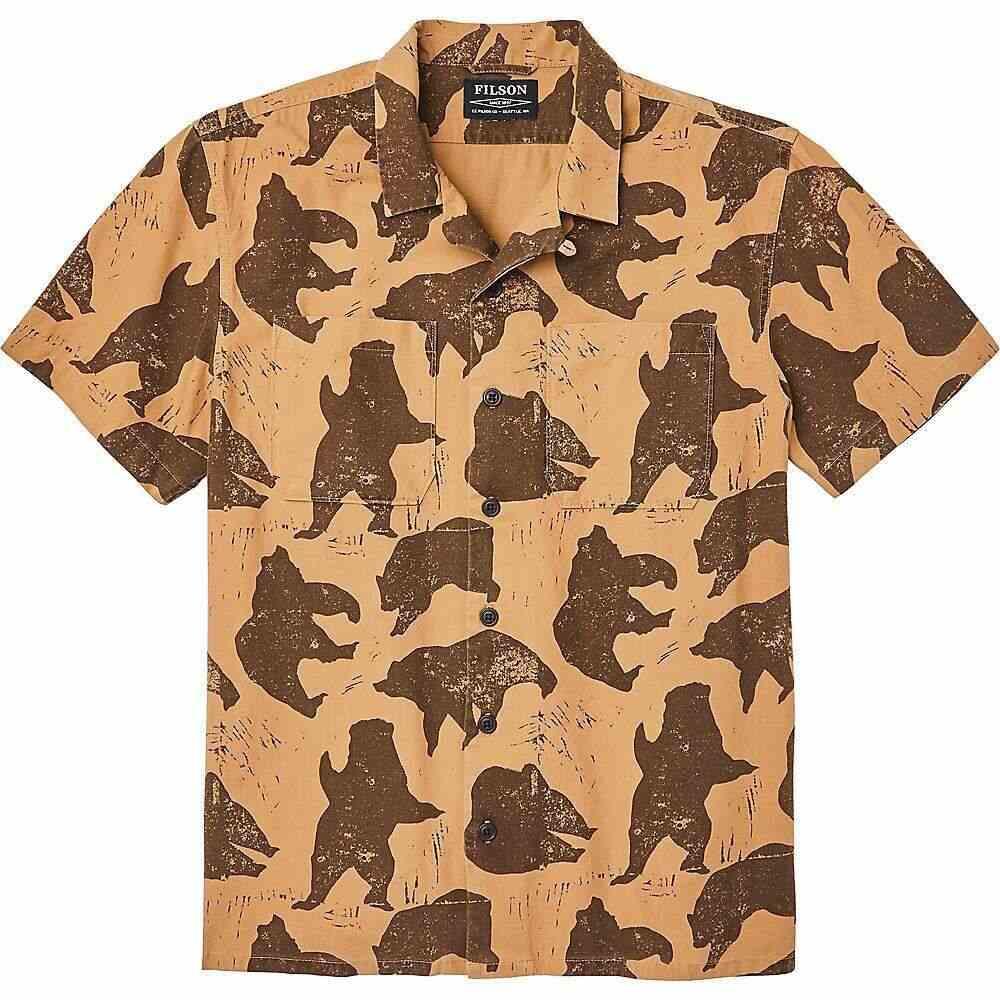 フィルソン Filson メンズ 半袖シャツ トップス【Northwest Camp Shirt】Bear