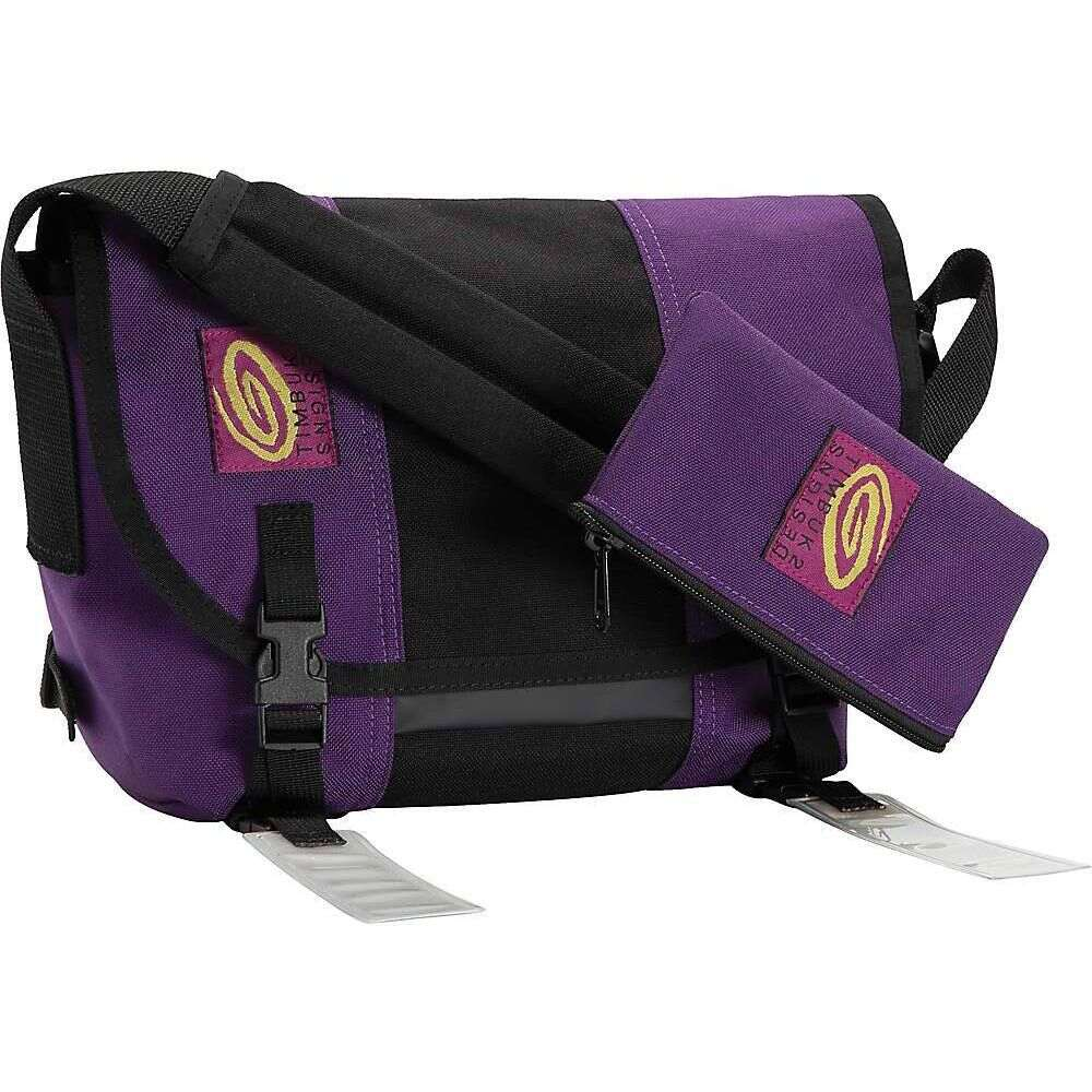 ティンバックツー Timbuk2 メンズ メッセンジャーバッグ バッグ【CMB Re-Issue Messenger Bag】Purple/Black/Purple