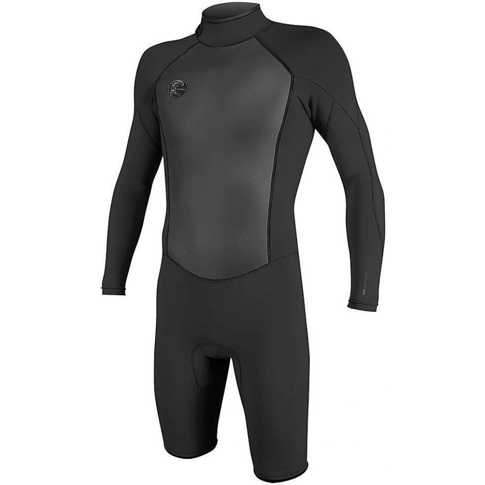 オニール Oneill メンズ ウェットスーツ 水着・ビーチウェア【O'Neill O'riginal 2MM Back Zip LS Spring Suit】Black/Black