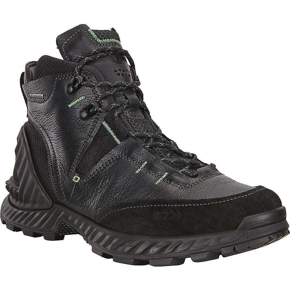 エコー Ecco メンズ ハイキング・登山 ブーツ シューズ・靴【Exohike High Boot】Black/Black
