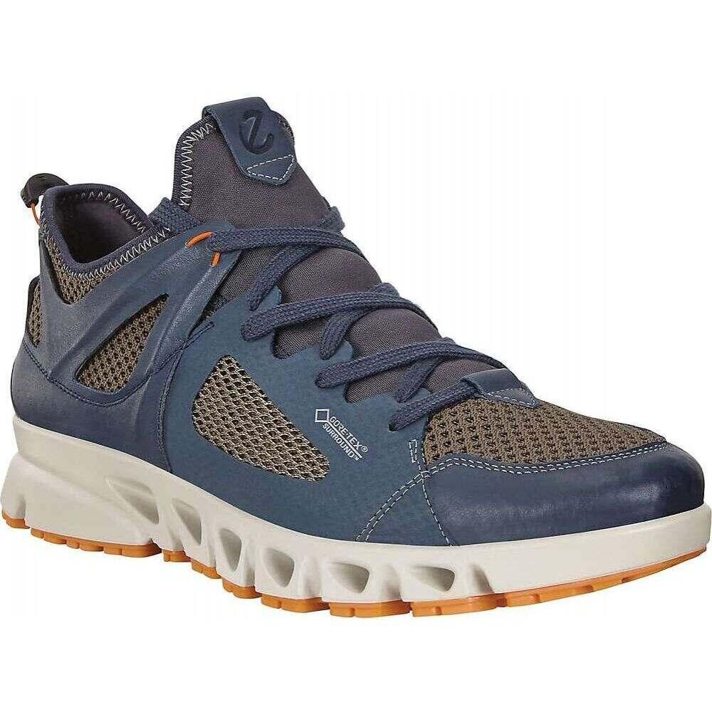 エコー Ecco メンズ ハイキング・登山 シューズ・靴【Omni-Vent Air Shoe】Marine/Dark Clay/Pumpkin