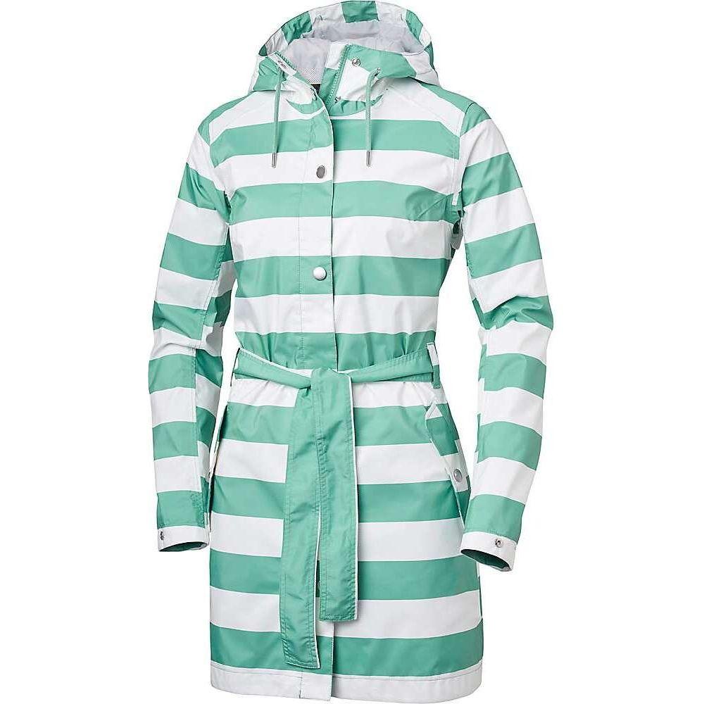 ヘリーハンセン Helly Hansen レディース コート アウター【Lyness II Coat】Jade Stripe
