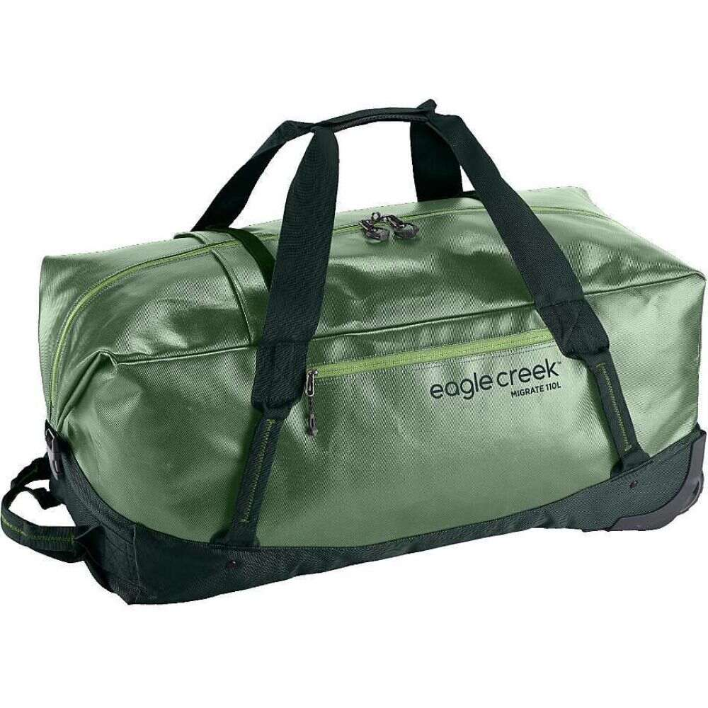 エーグルクリーク Eagle Creek ユニセックス スーツケース・キャリーバッグ バッグ【Migrate Wheeled 110L Duffel Bag】Mossy Green