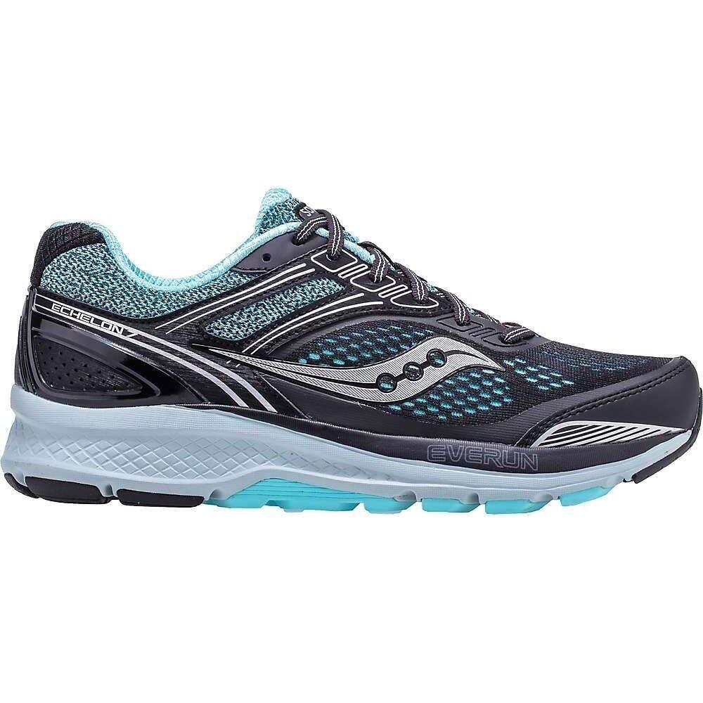 サッカニー Saucony レディース ランニング・ウォーキング シューズ・靴【Echelon 7 Shoe】Black/Aqua
