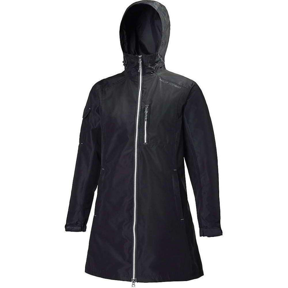 ヘリーハンセン Helly Hansen レディース レインコート アウター【Long Belfast Jacket】BLACK