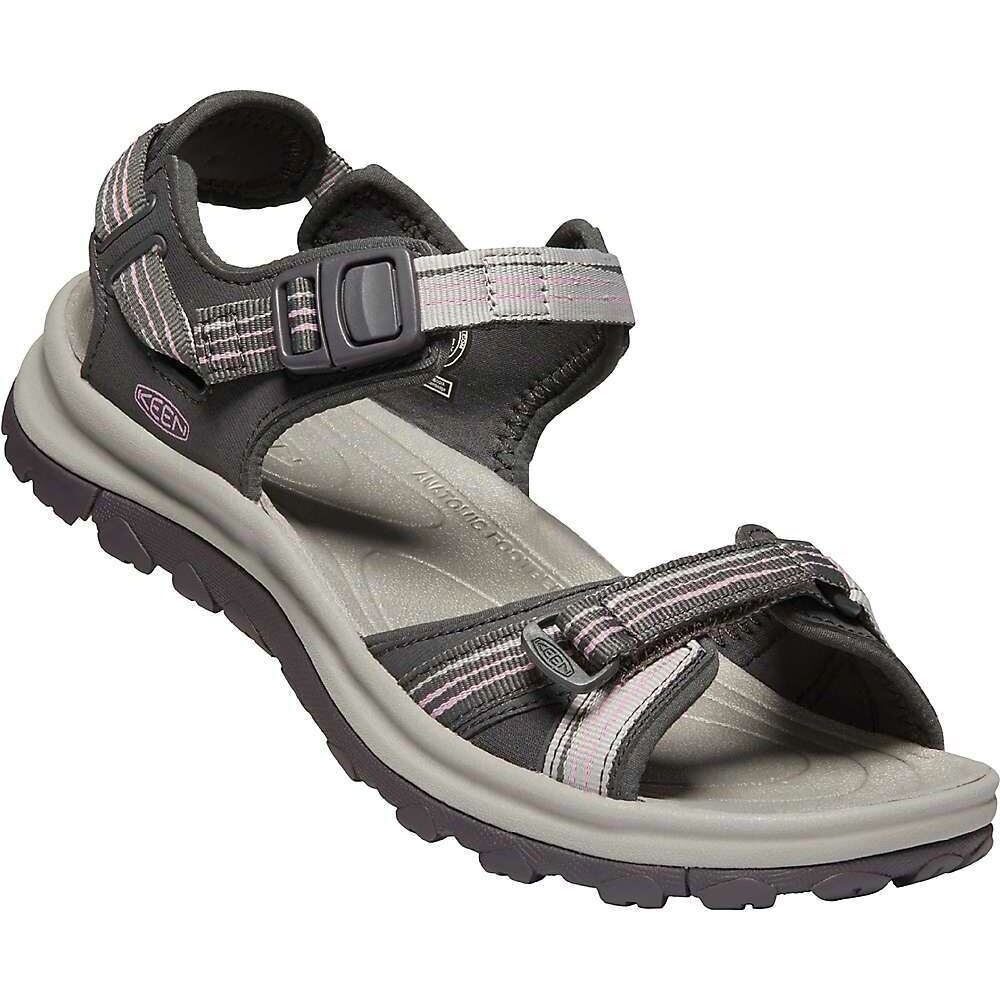 キーン Keen レディース サンダル・ミュール オープントゥ シューズ・靴【Terradora II Open Toe Sandal】Dark Grey/Dawn Pink