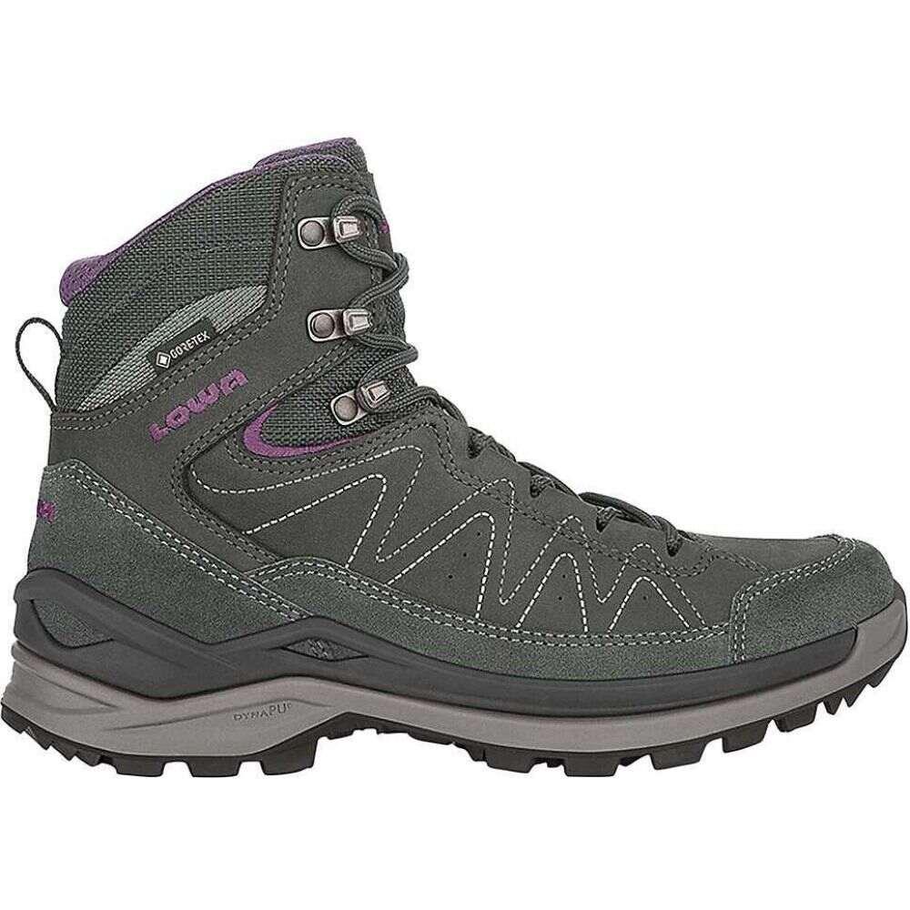 ローバー Lowa Boots レディース ハイキング・登山 ブーツ シューズ・靴【Lowa Toro Evo GTX Mid Boot】Anthracite/Eggplant