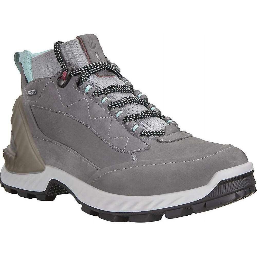 エコー Ecco レディース ハイキング・登山 シューズ・靴【Exohike High Shoe】Titanium/Concrete