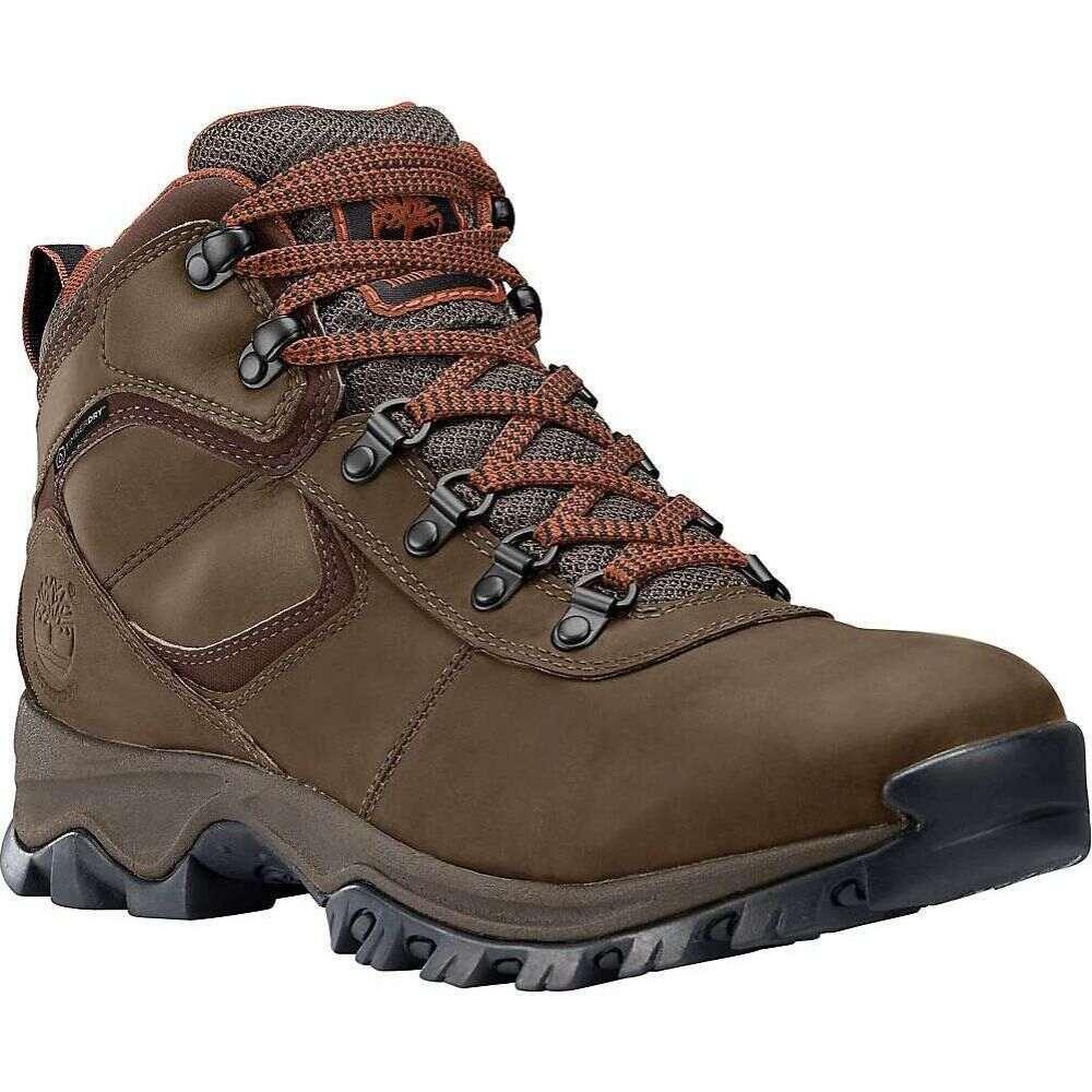 ティンバーランド Timberland メンズ ハイキング・登山 ブーツ シューズ・靴【Mt. Maddsen Mid Waterproof Boot】Medium Brown Full-Grain