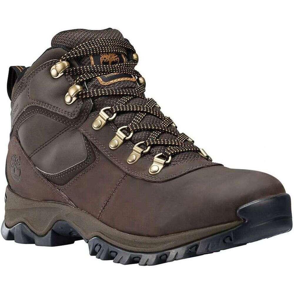 ティンバーランド Timberland メンズ ハイキング・登山 ブーツ シューズ・靴【Mt. Maddsen Mid Waterproof Boot】Dark Brown Full-Grain