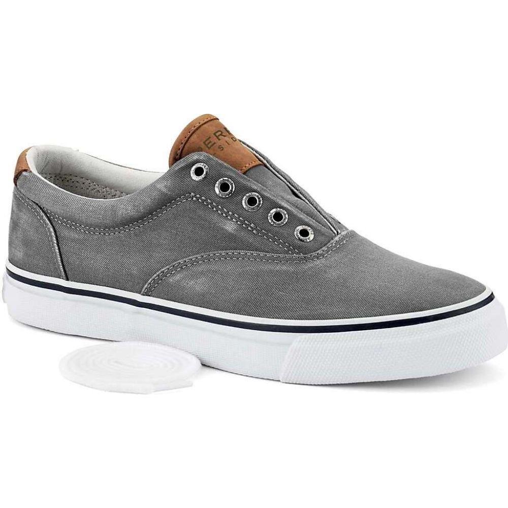 スペリートップサイダー Sperry メンズ シューズ・靴 【Striper LL CVO Shoe】Grey
