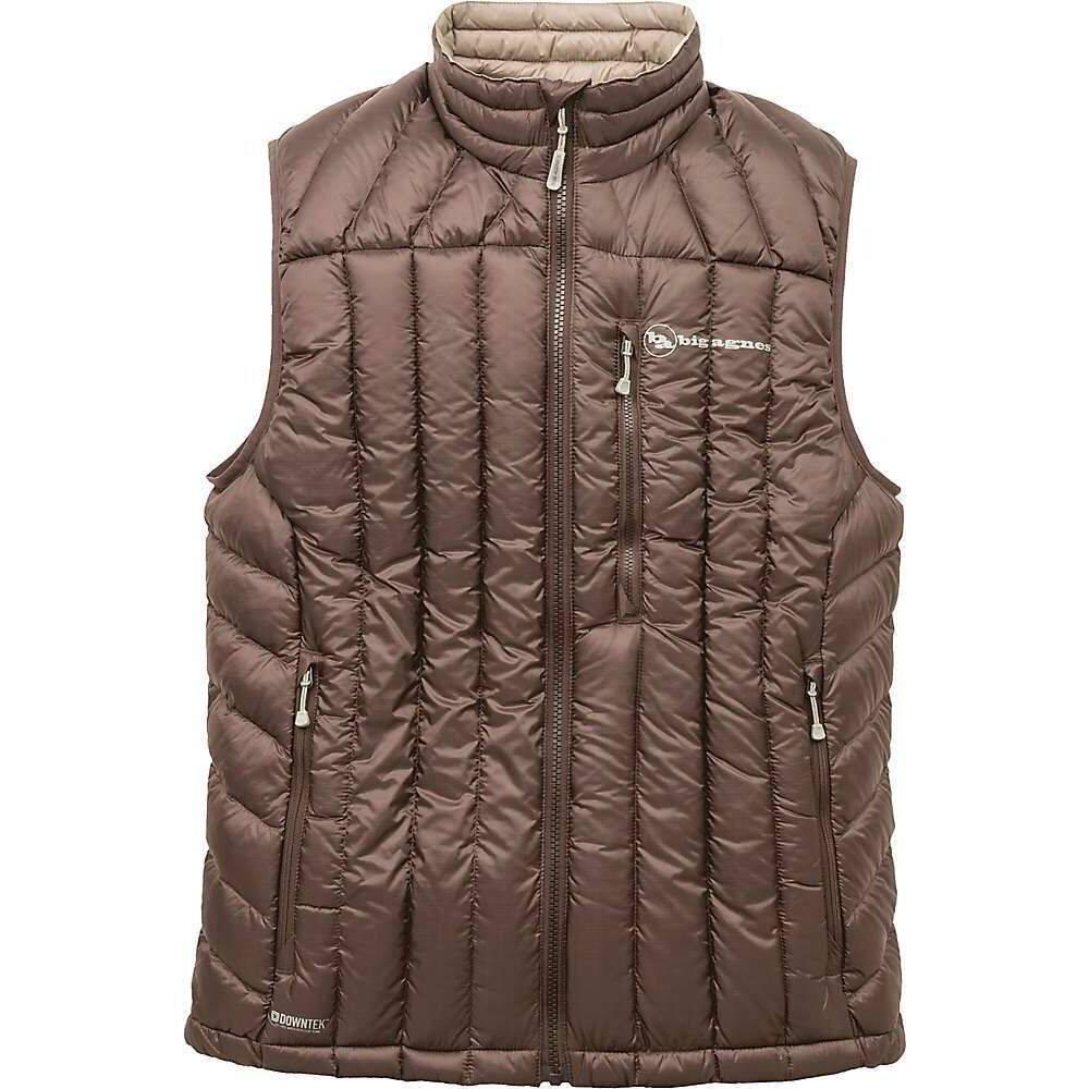 ビッグアグネス Big Agnes メンズ ベスト・ジレ トップス【Ways Gulch Vest】Chocolate/Grey