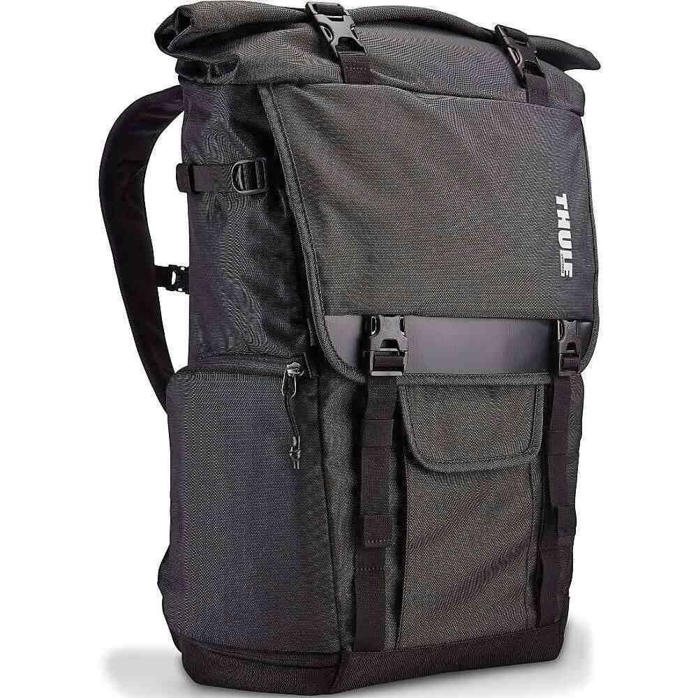 スーリー Thule メンズ バックパック・リュック バッグ【Covert DSLR Rolltop Backpack】Dark Shadow