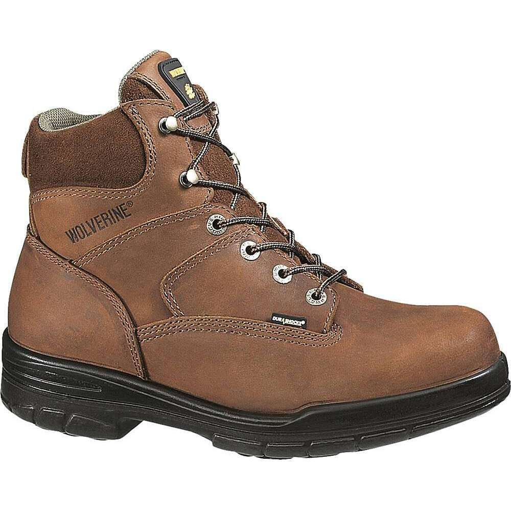 ウルヴァリン Wolverine メンズ ブーツ シューズ・靴【Durashocks 6IN Boot】Brown