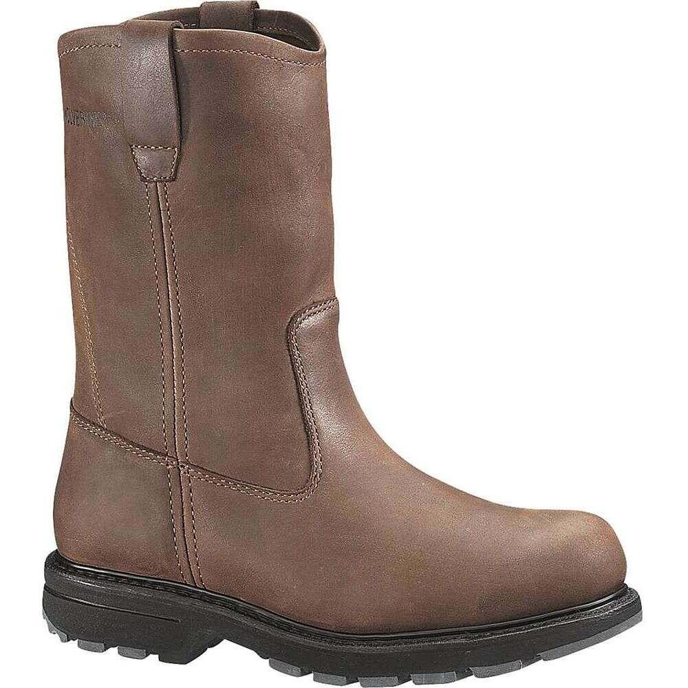 ウルヴァリン Wolverine メンズ ブーツ ウェリントンブーツ ワークブーツ シューズ・靴【Wellington Work Boot】Brown Nubuck