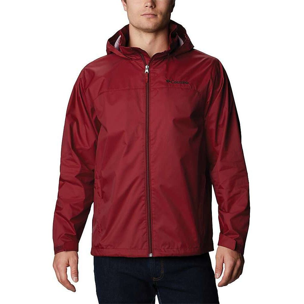 コロンビア Columbia メンズ レインコート アウター【Glennaker Lake Rain Jacket】Red Jasper