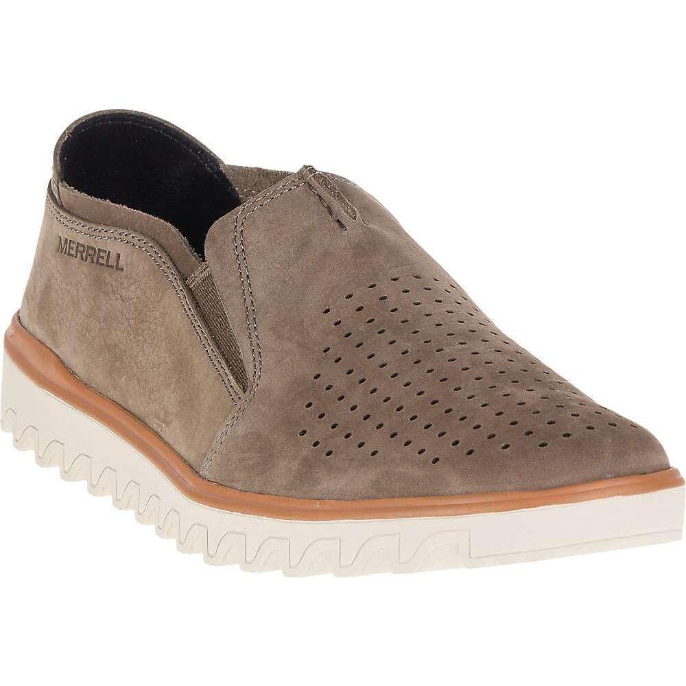 メレル Merrell メンズ スリッポン・フラット シューズ・靴【Downtown Moc Shoe】Merrell Stone