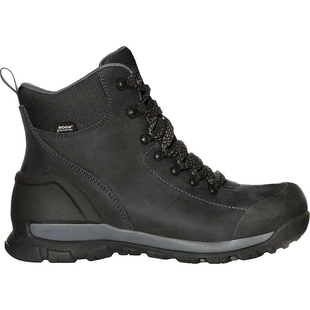 ボグス Bogs メンズ ブーツ シューズ・靴【Foundation Leather Mid Waterproof CT Boot】Black