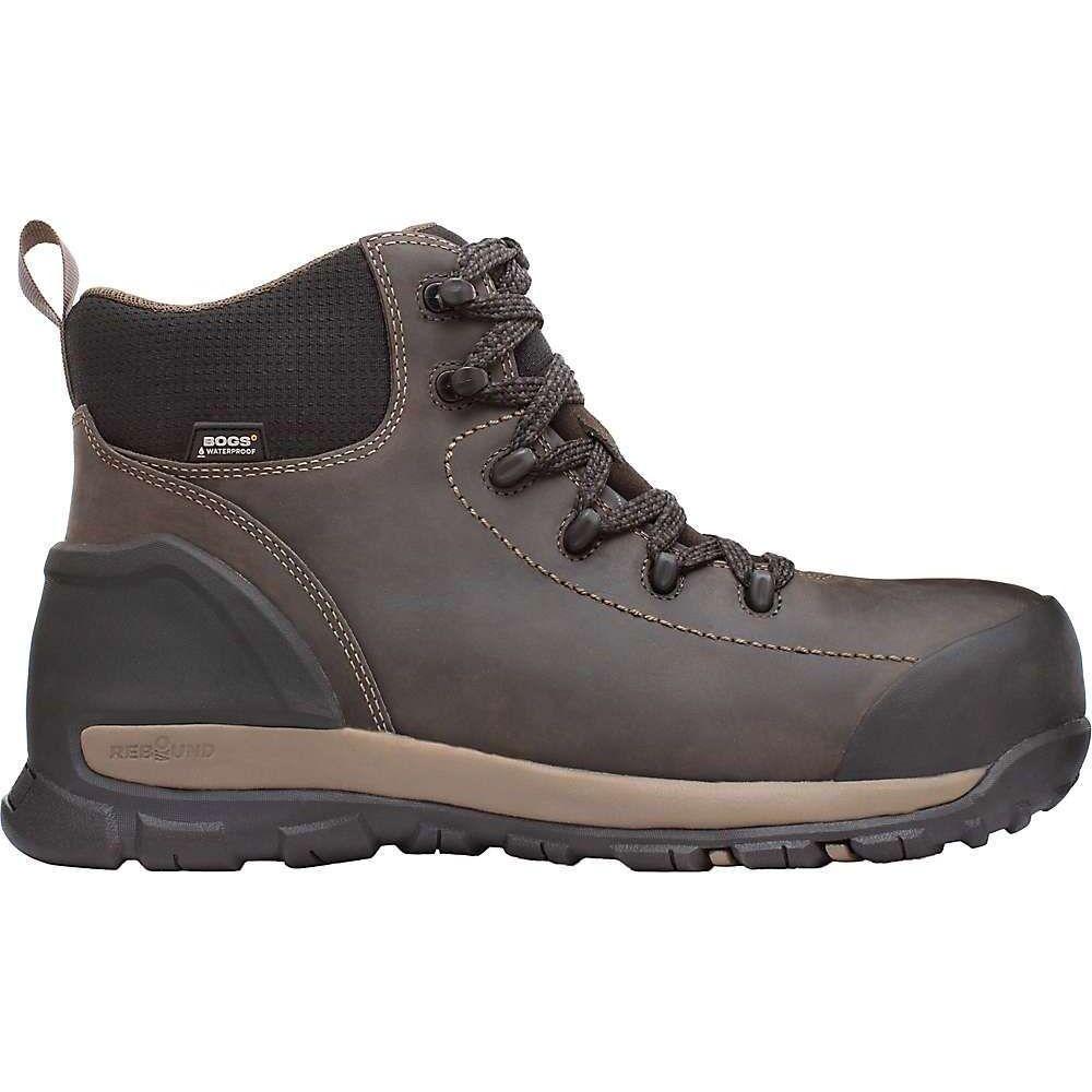 ボグス Bogs メンズ ブーツ シューズ・靴【Foundation Leather Mid Waterproof Soft Toe Boot】Brown