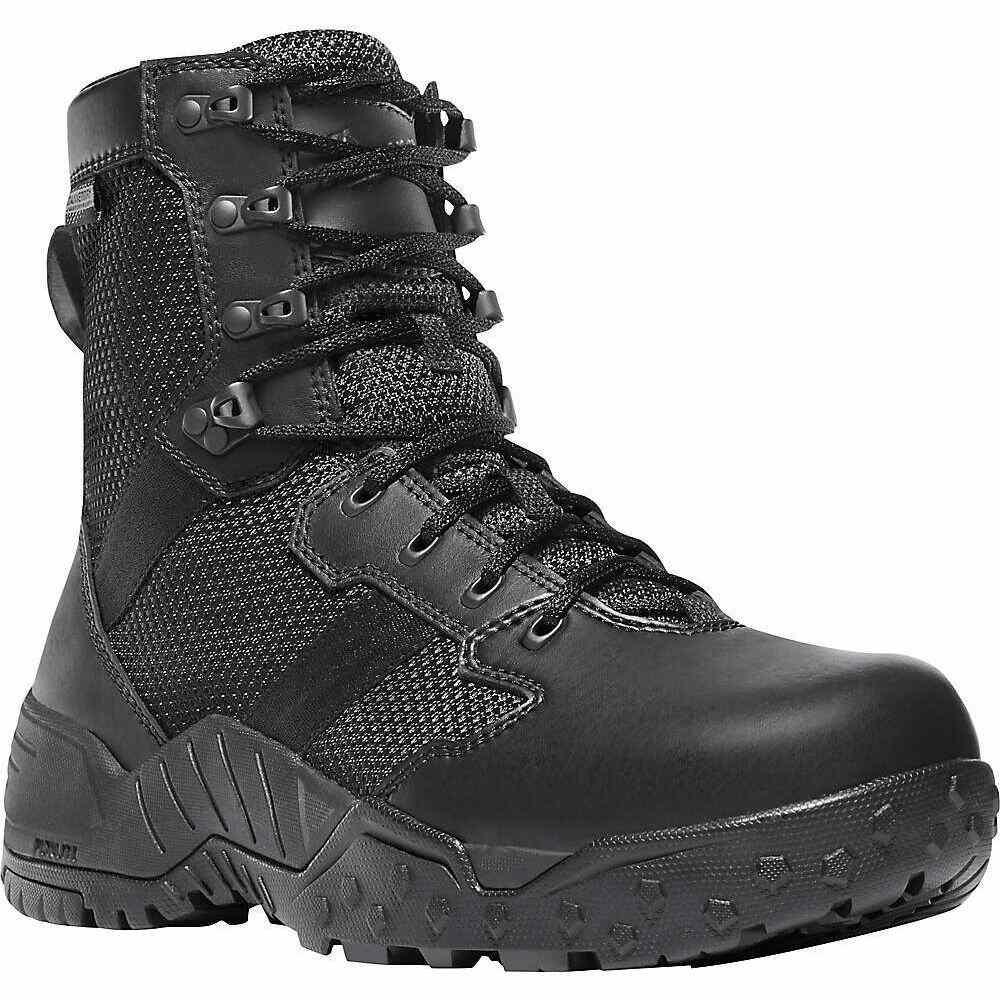 ダナー Danner メンズ ハイキング・登山 ブーツ シューズ・靴【Scorch Side-Zip 8IN Boot】Black Danner Dry