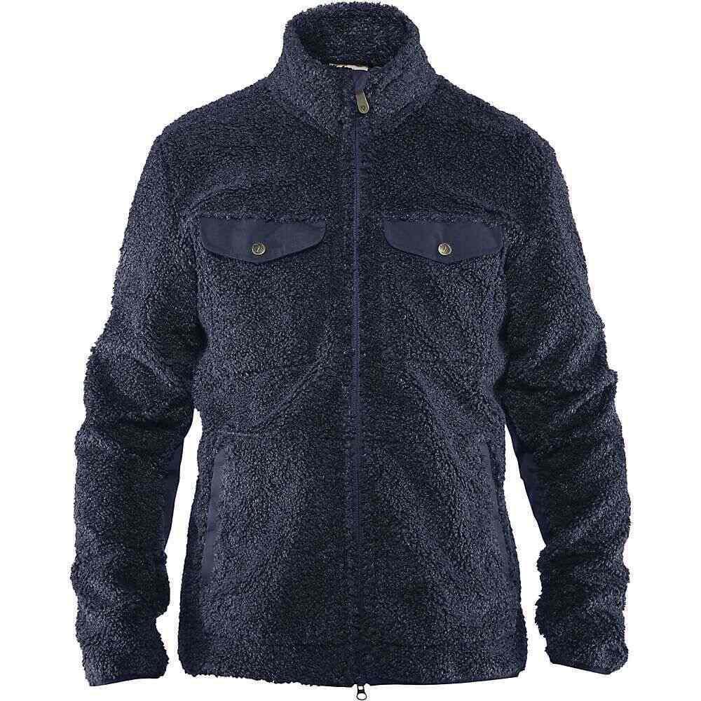 フェールラーベン Fjallraven メンズ フリース トップス【Greenland Pile Fleece Jacket】Night Sky