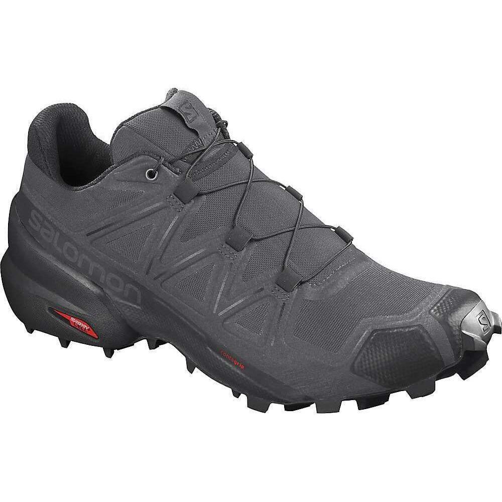 サロモン Salomon メンズ ランニング・ウォーキング シューズ・靴【Speedcross 5 Shoe】Magnet/Black/Phantom