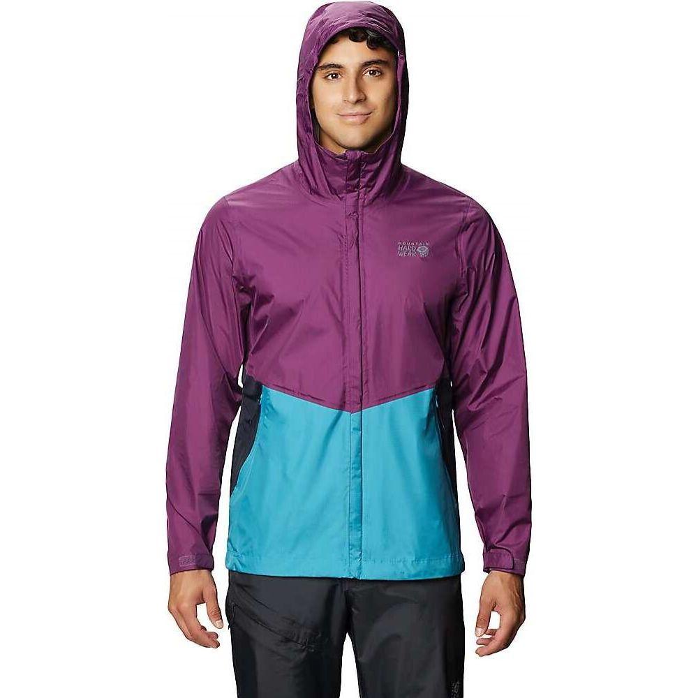 マウンテンハードウェア Mountain Hardwear メンズ ジャケット マウンテンジャケット アウター【Acadia Jacket】Cosmos Purple