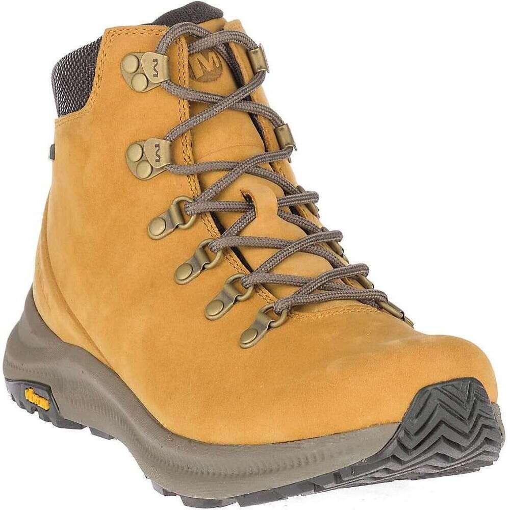 メレル Merrell メンズ ハイキング・登山 シューズ・靴【Ontario Mid Waterproof Shoe】Gold