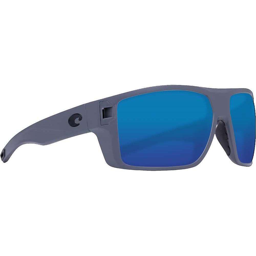 コスタデルメール Costa Del Mar メンズ スポーツサングラス 【Diego Sunglass】Matte Gray/Blue Mirror Glass